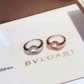 2色可選 上品な秋冬コーデに仕上げる ブルガリ BVLGARI 秋のコーデで使いやすい リング/指輪 一気にトレンド感が出す