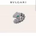 街のおしゃれさんも愛用  ブルガリ BVLGARI 秋冬ファッションを明るくなる リング/指輪 落ち着いたコーデが楽しもう