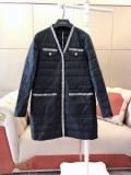 2色可選 一気にトレンド感が出す  ロングコート 着こなしの幅が広がる シャネル 秋冬ファッションをおしゃれに着こなし CHANEL
