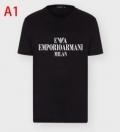 春夏の着こなしにぴったり アルマーニ 多色可選 ARMANI 半袖Tシャツ 落ち着いたニュアンスコーデ